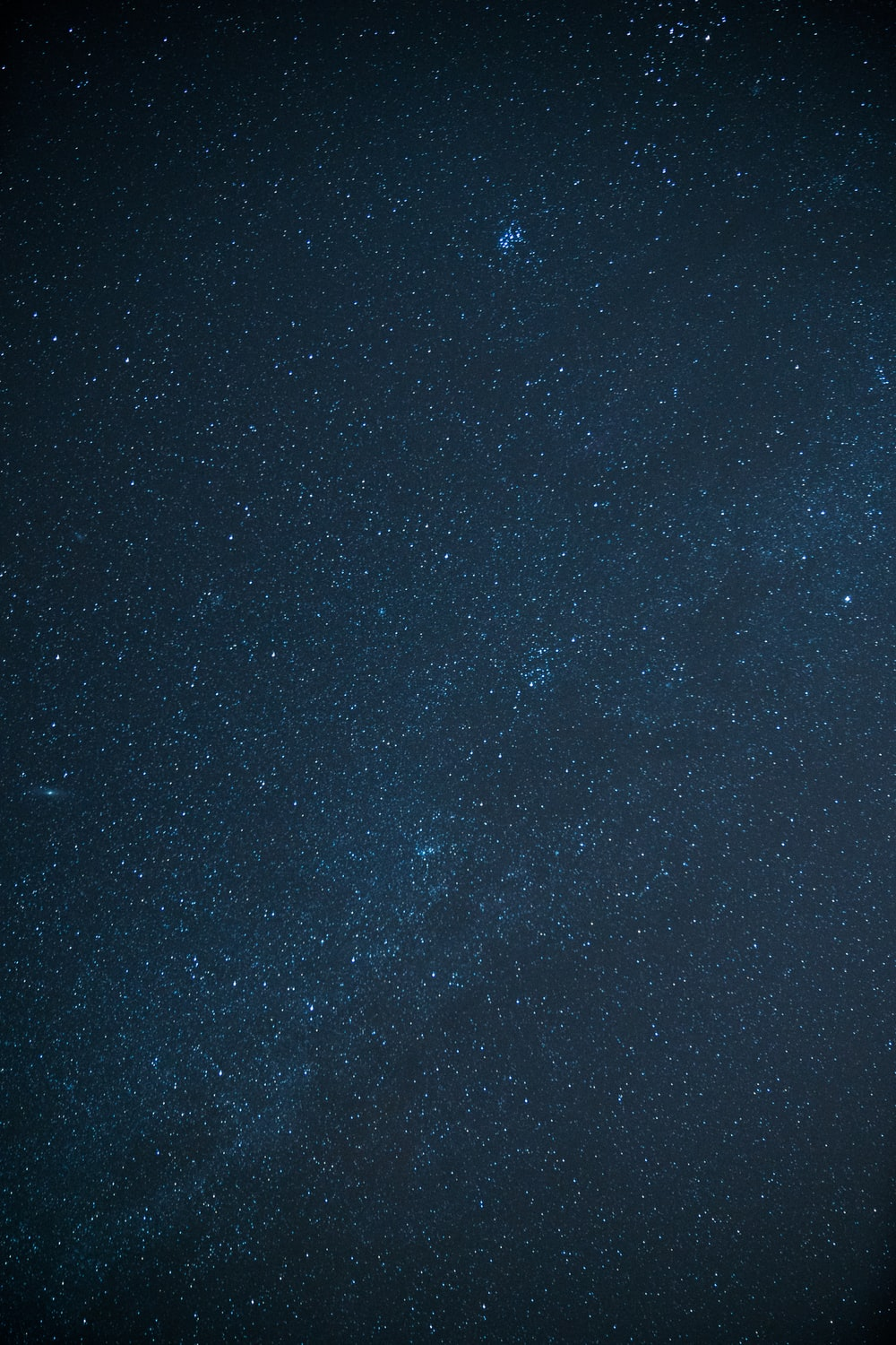 low angle photo of starry night