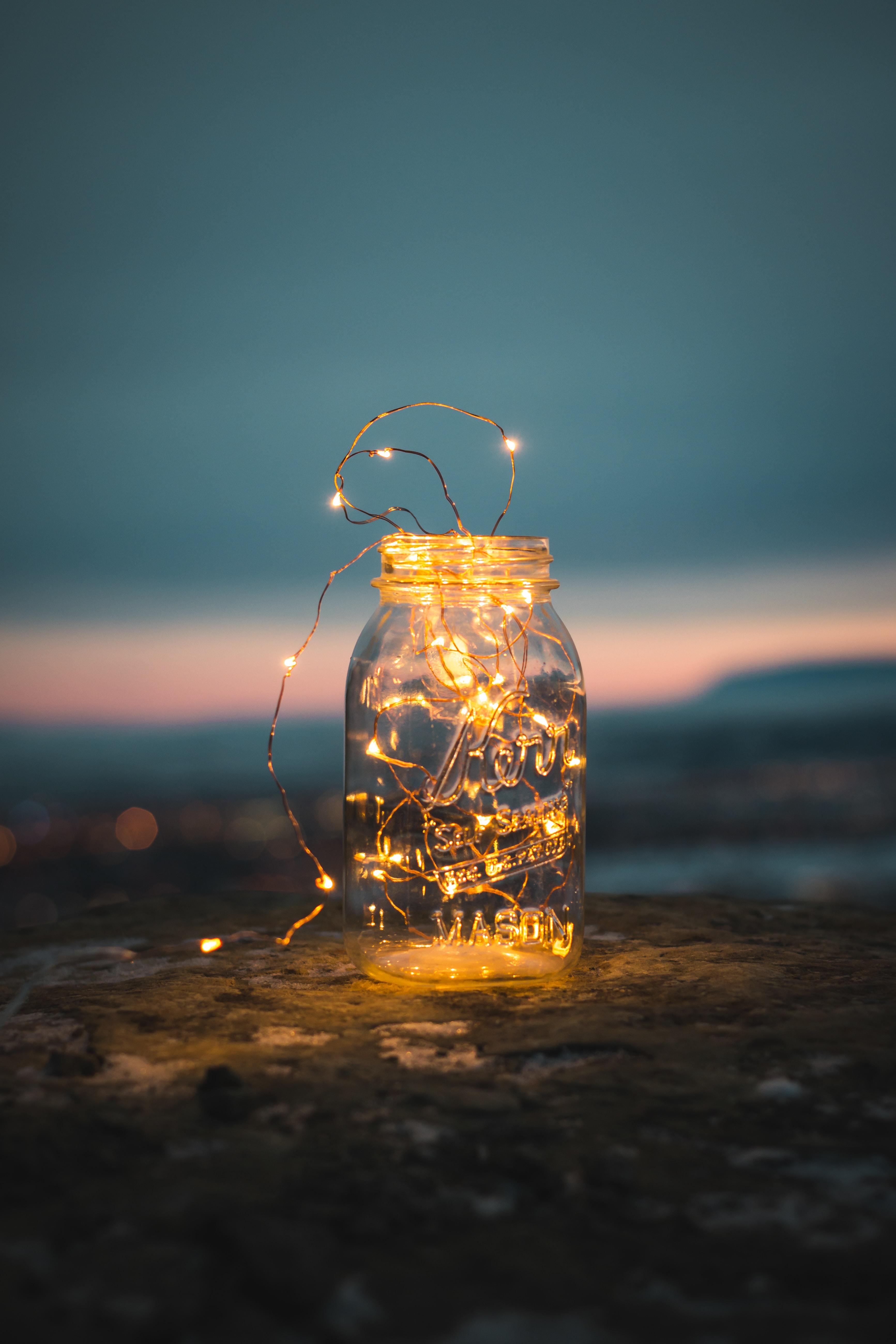 Artsy Lighting Throughout Clear Glass Jar Artsy 12 Best Free Artsy Light Hand And Art Photos On Unsplash