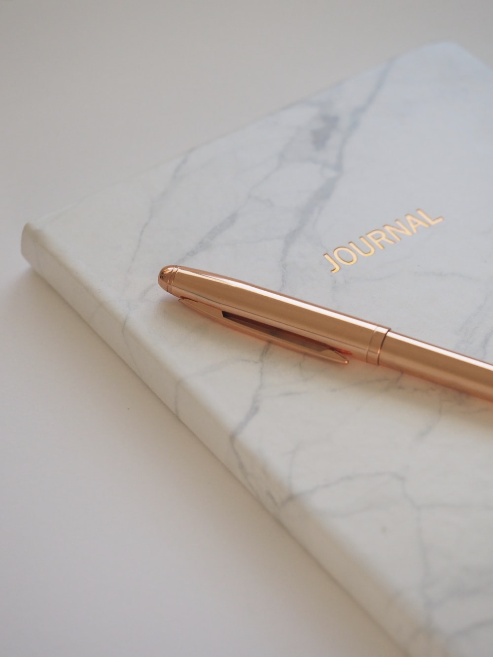 gold ballpoint pen