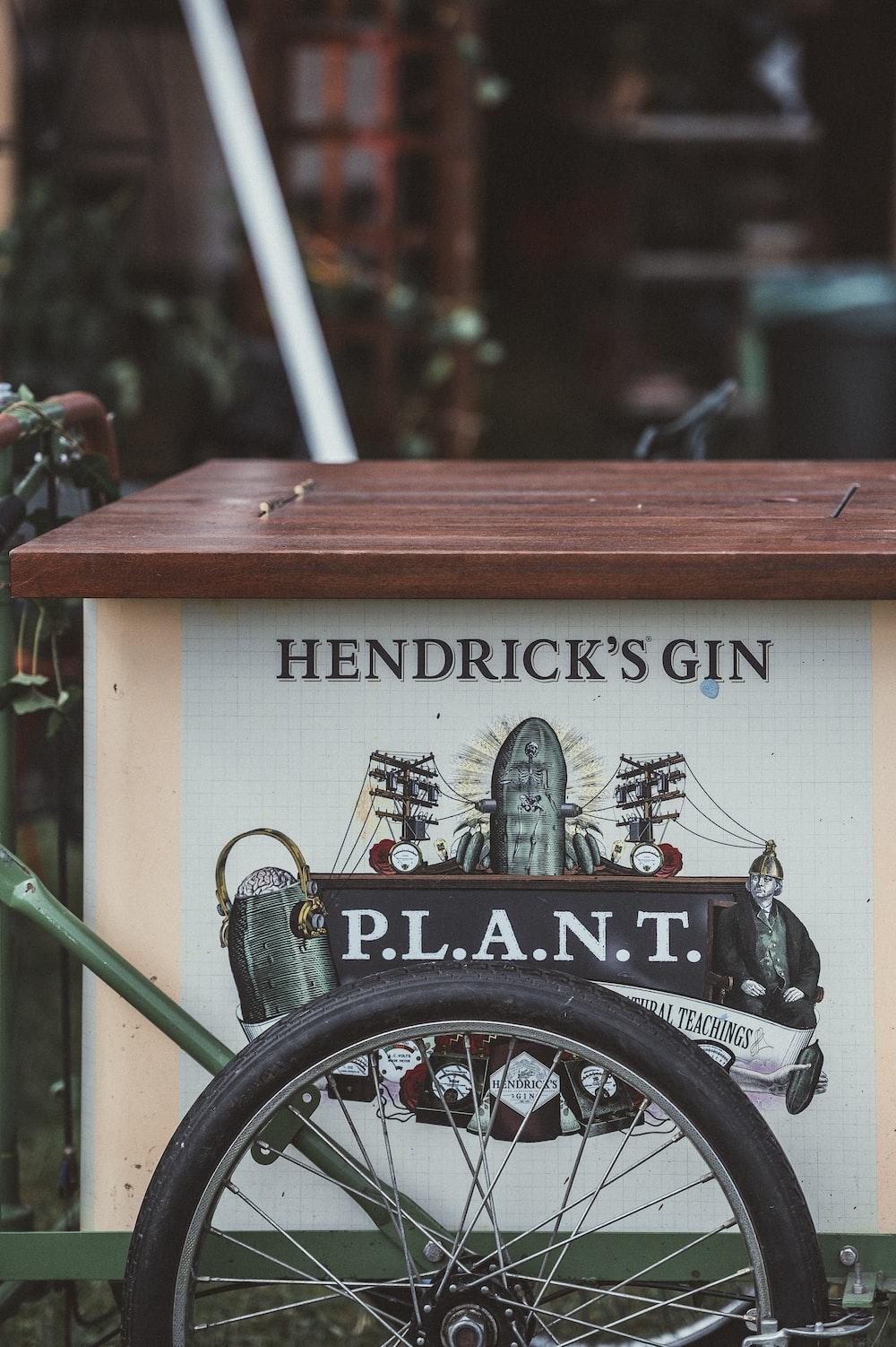 Hendrick's Gin food cart