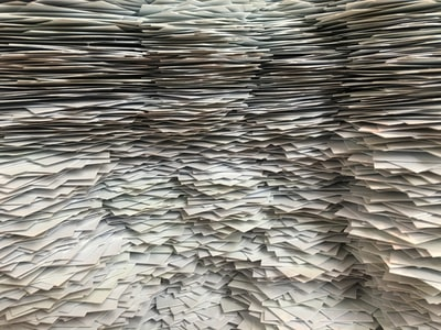 pile of papers