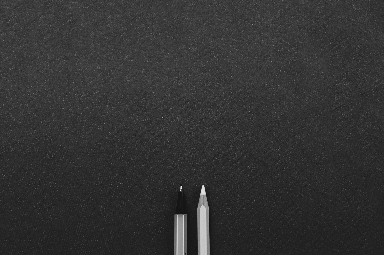 Blank Black Paper