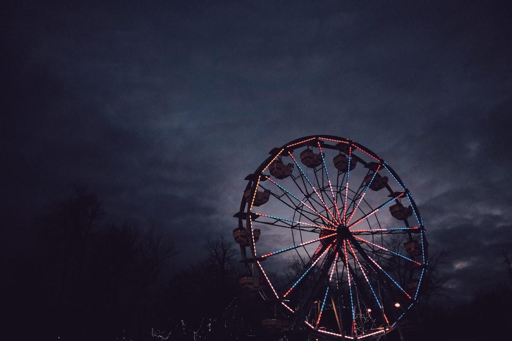 selective focus photo of ferris wheel