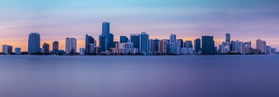 landscape photo of buildings miami zoom background