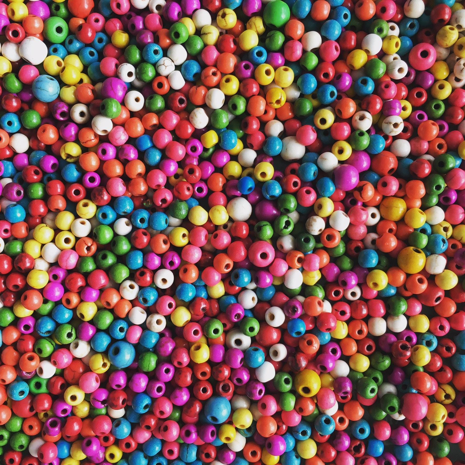 pile of bead