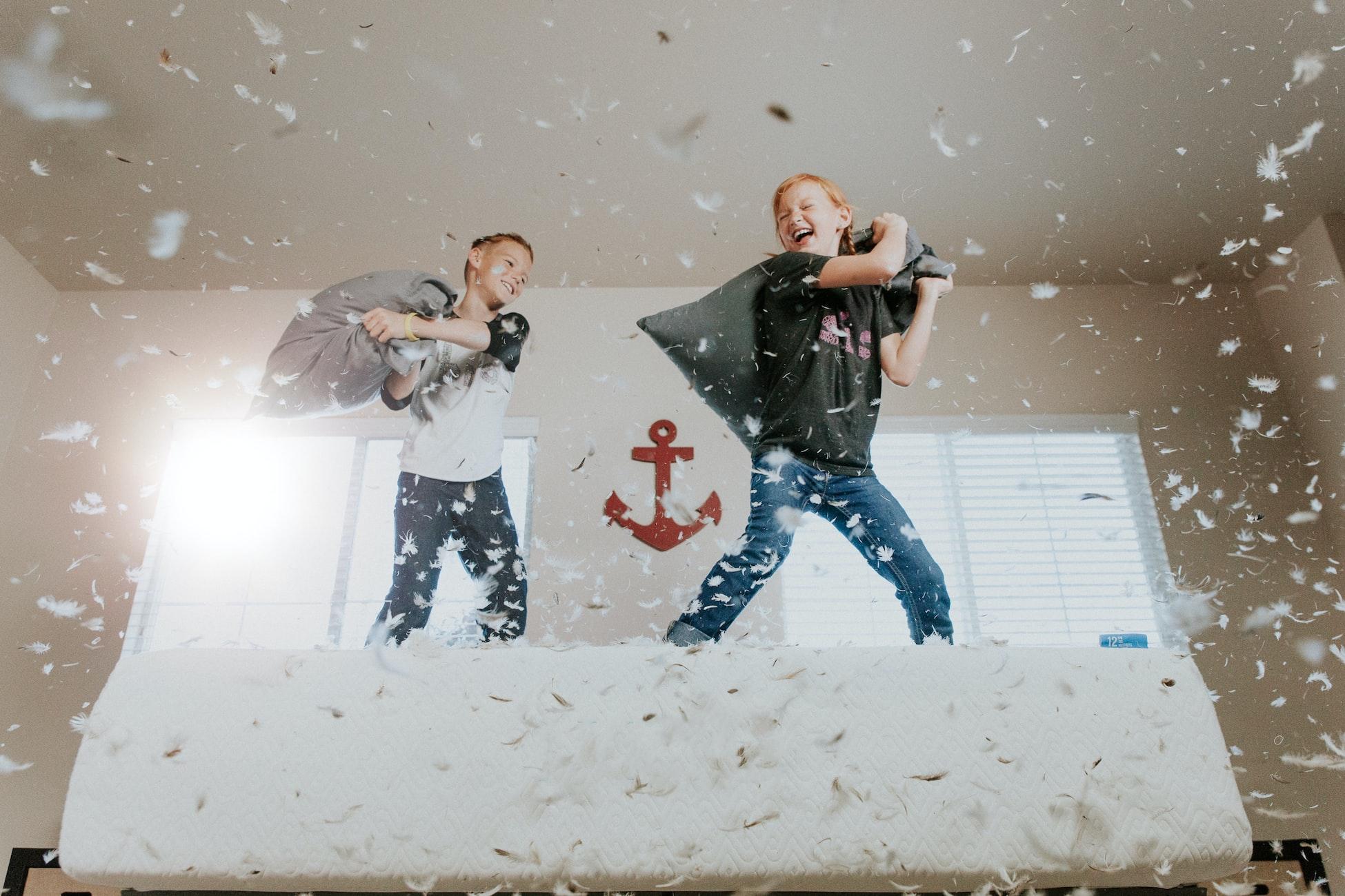 Kids Playing Together - Let's Roam Indoor Scavenger Hunts