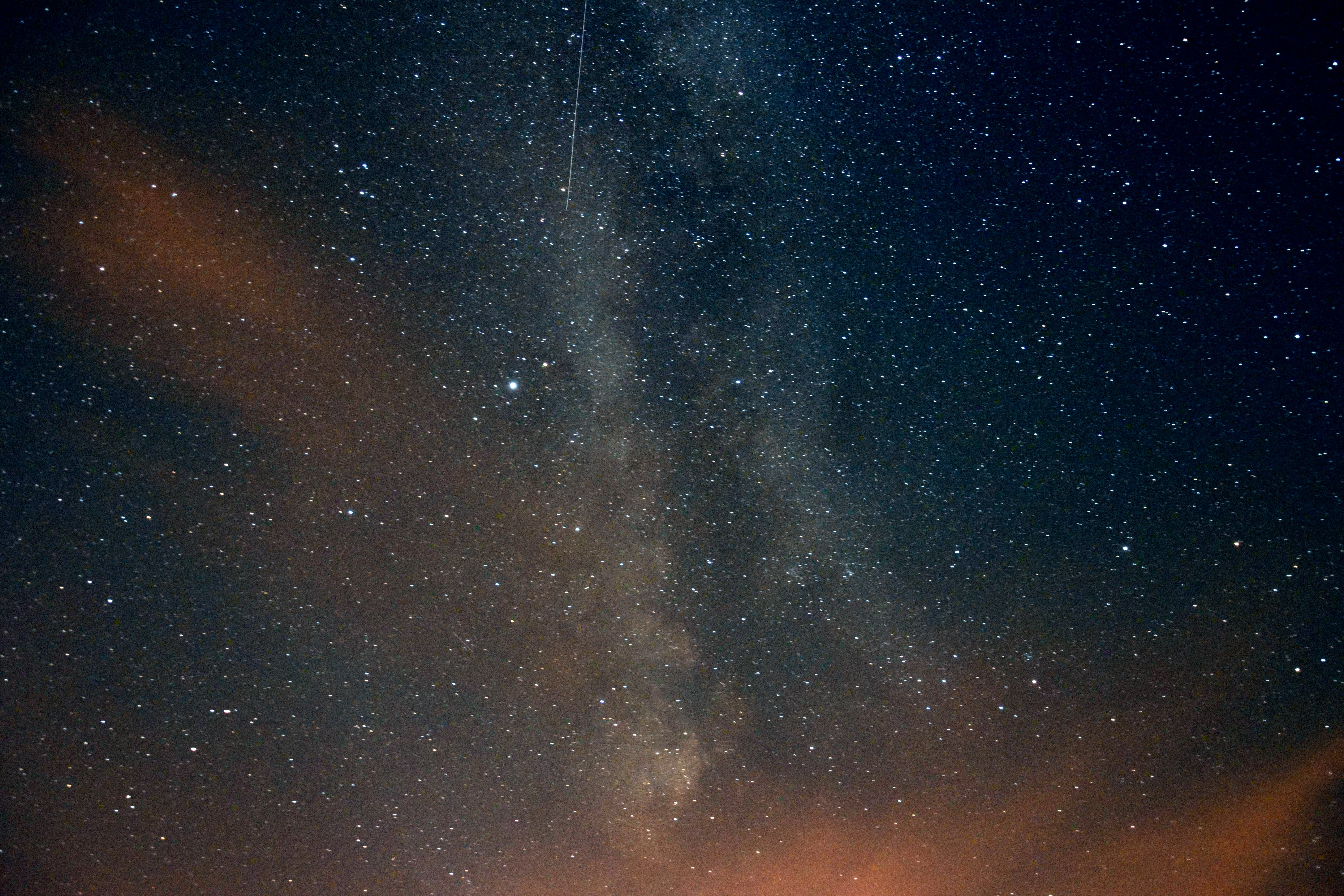 low angle photo of milky way galaxy