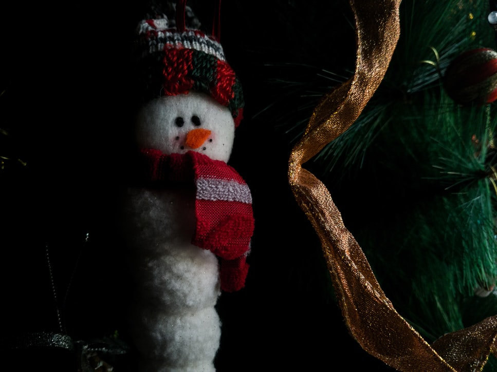 Snowman Ornament | 51 Simple Christmas Ornaments You Can Start Sewing Today