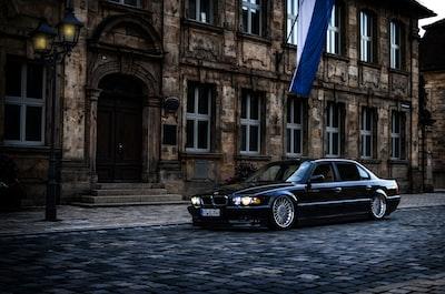 Photoshooting in Bayreuth width BMW 740IL