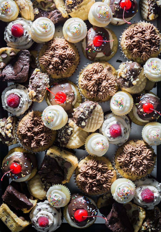 cupcake and cake lot