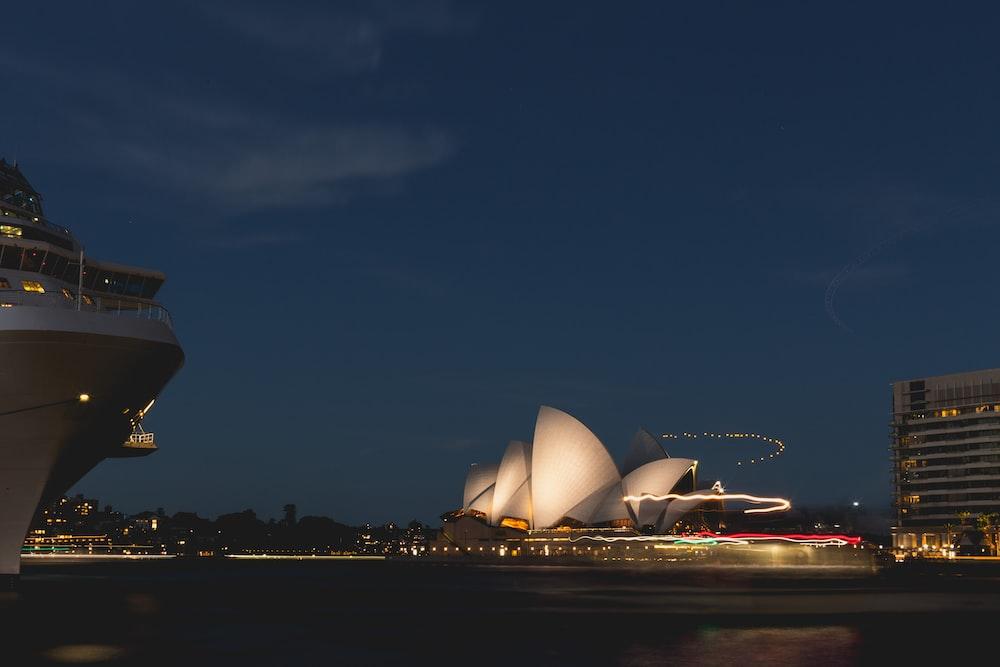 Opera house landmark