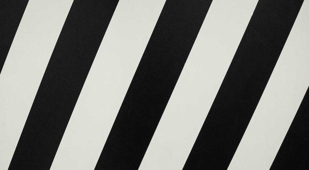 black and white striped graphic wallpaper