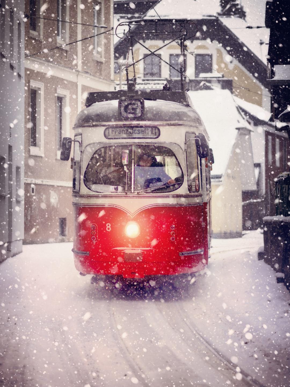Trolley in Snow