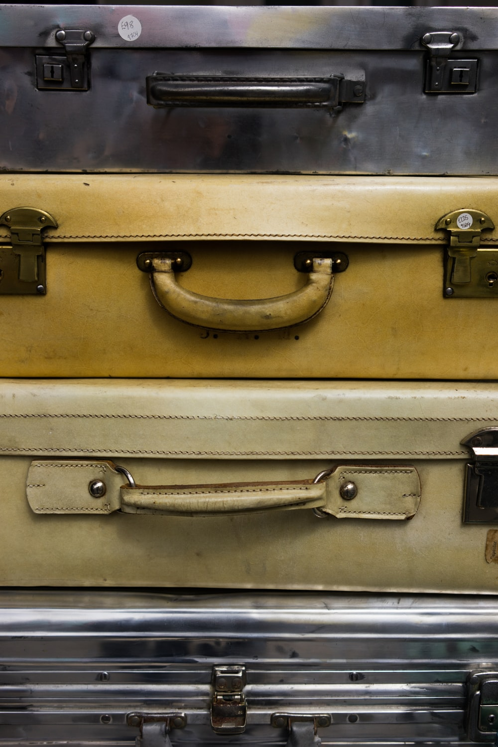 assorted briefcases