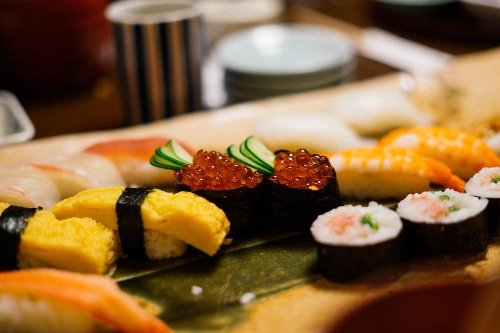 調理した寿司