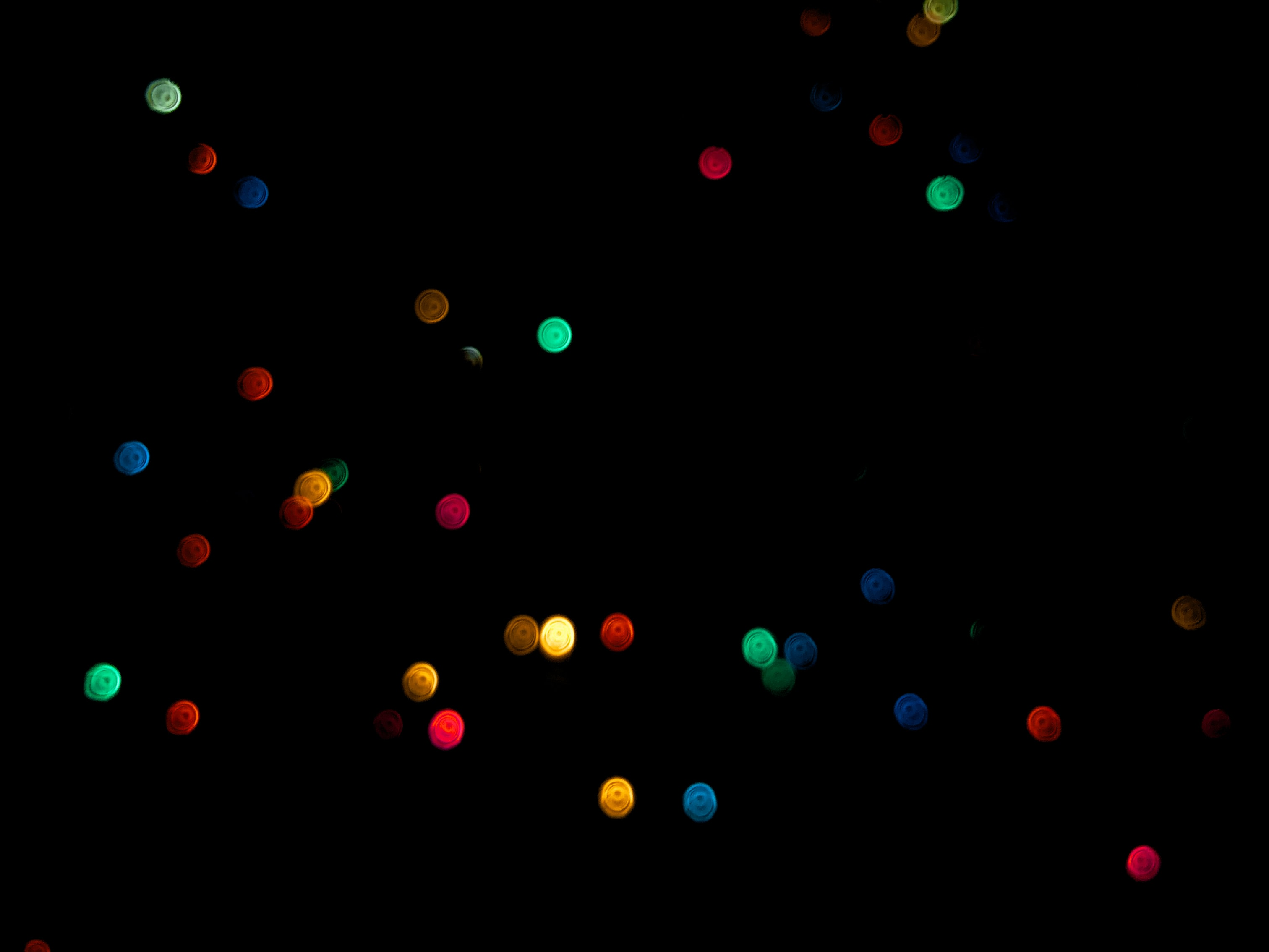 assorted-color light bokeh