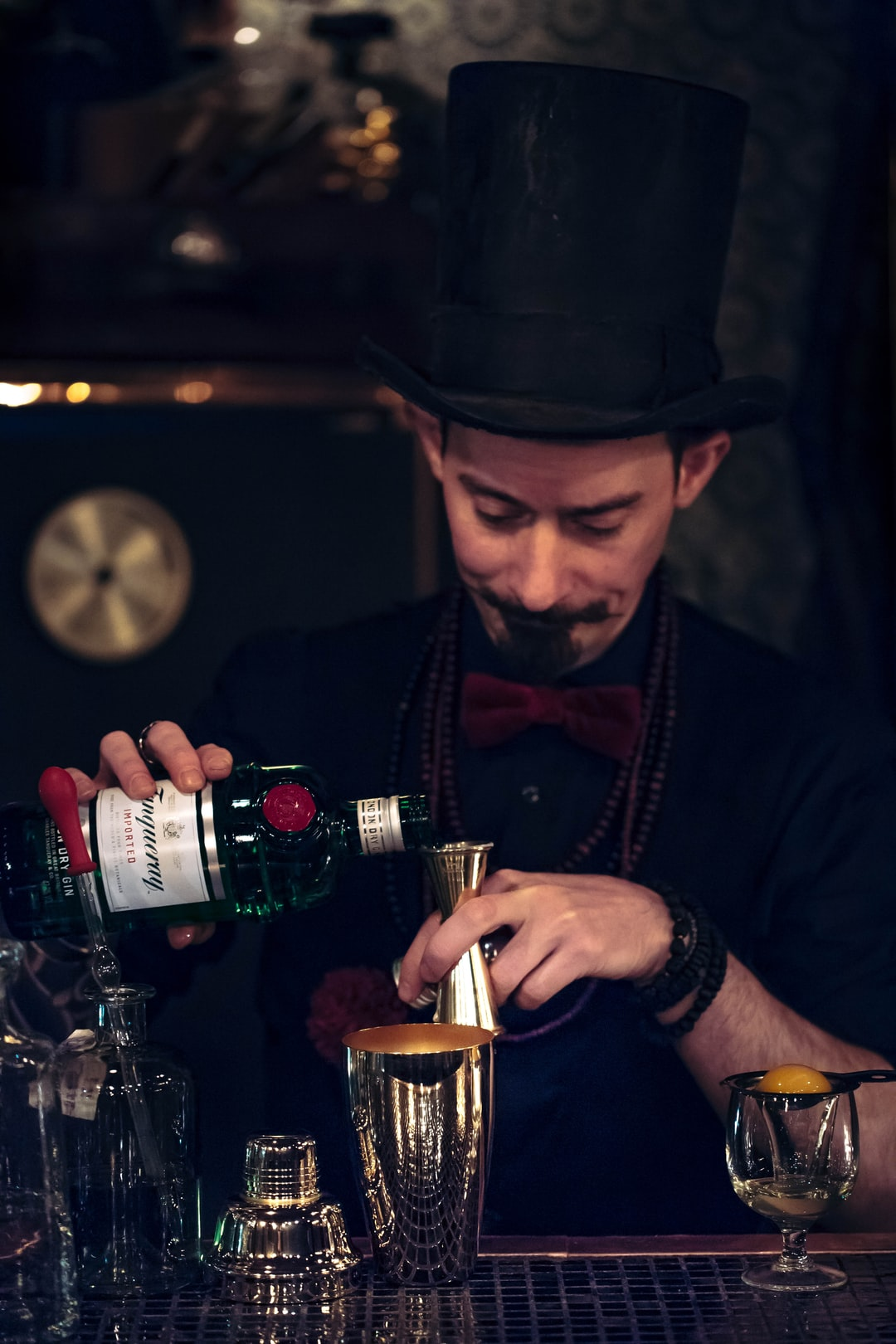 Chris, a French magician is the mastermind behind L'EscaMoteur in Kyoto. He designed the speakeasy himself, and his drink creations are out of this world.