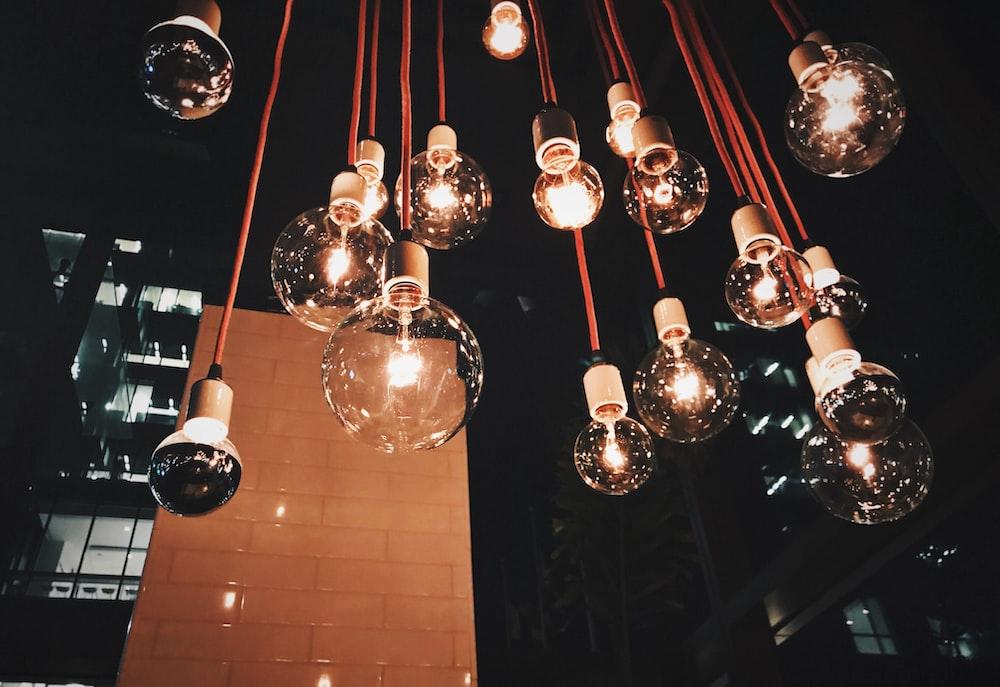 pendant lamps lot