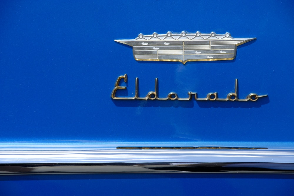 silver Eldorado emblem