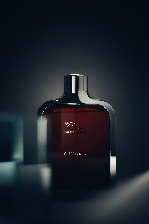 Jaguar Classic Red fragrance bottle