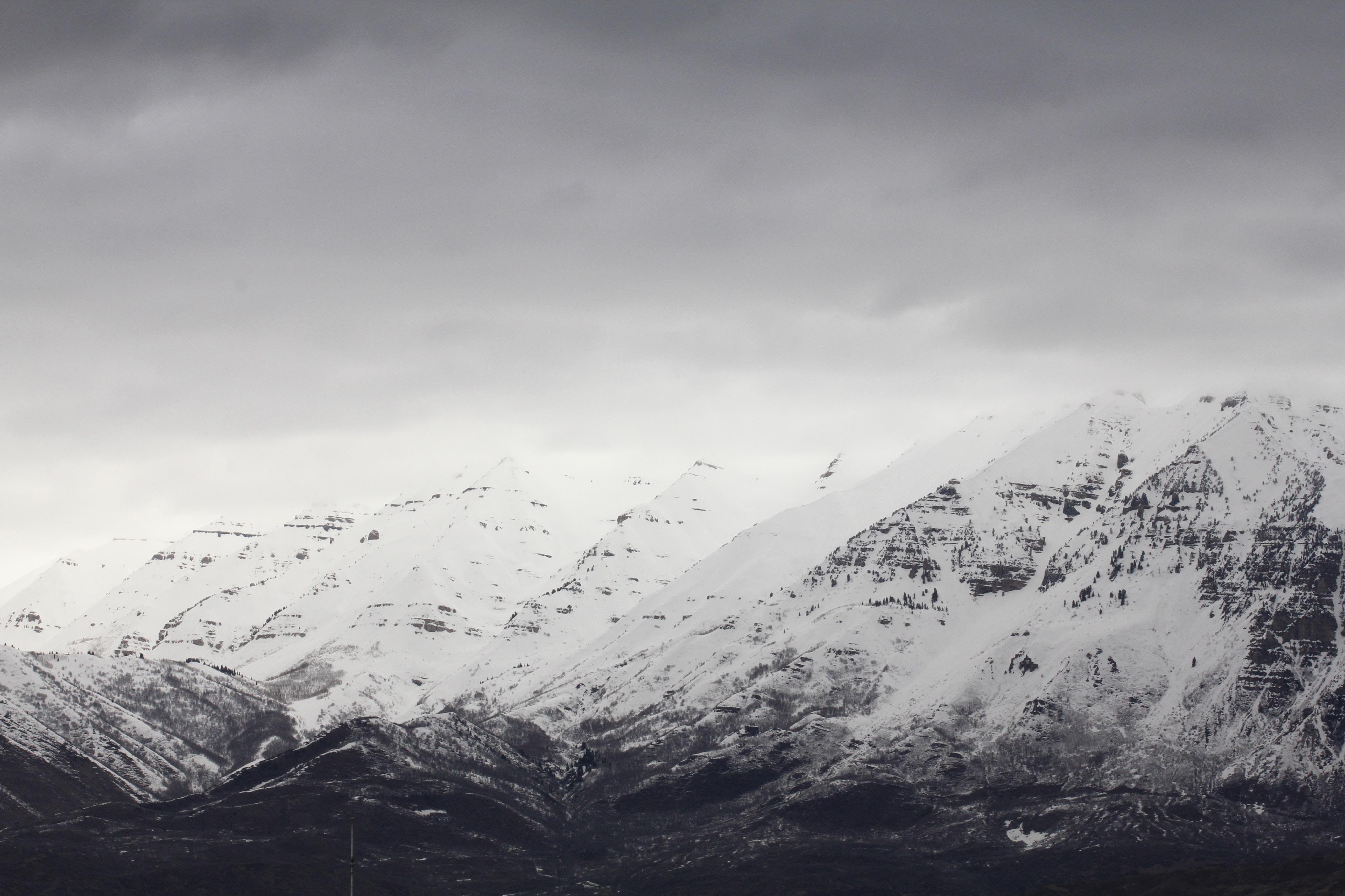 snowy mountain cap