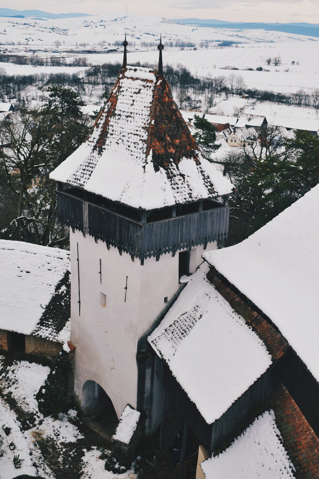Spent an entire day visiting fortified churches. This photo is part of that series!