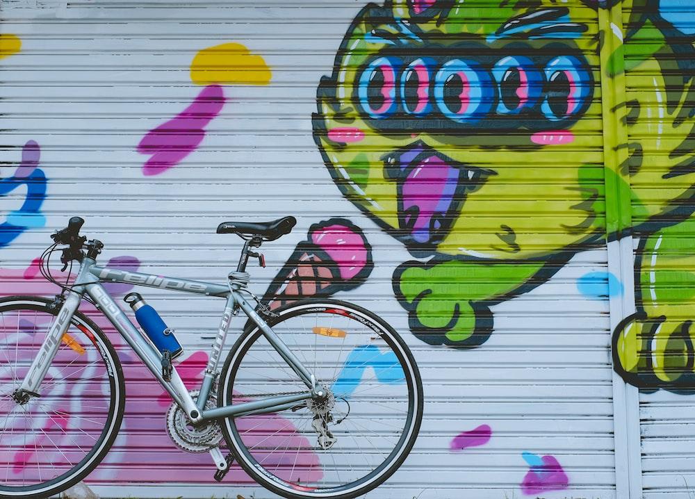 Gray City Bike Park On Near Roller Shutter