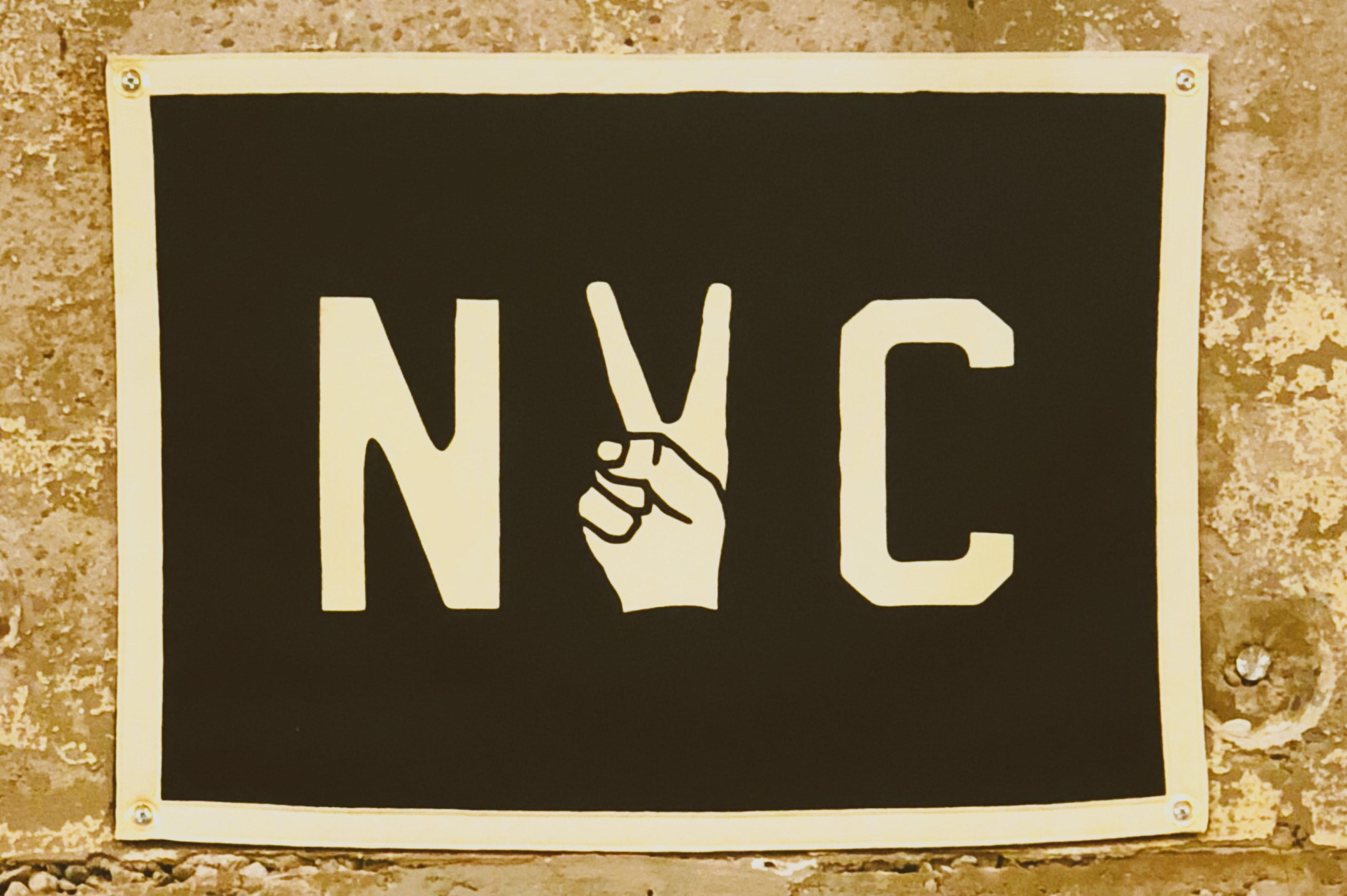 NYC sign