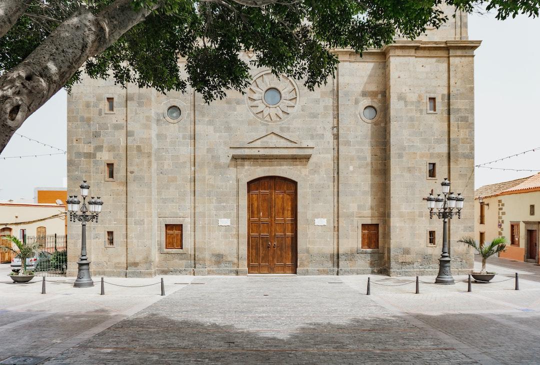 Agüimes, Canary Islands, architecture