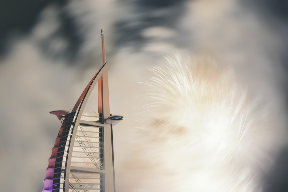 closeup photo of Burj Al Arab, Dubai
