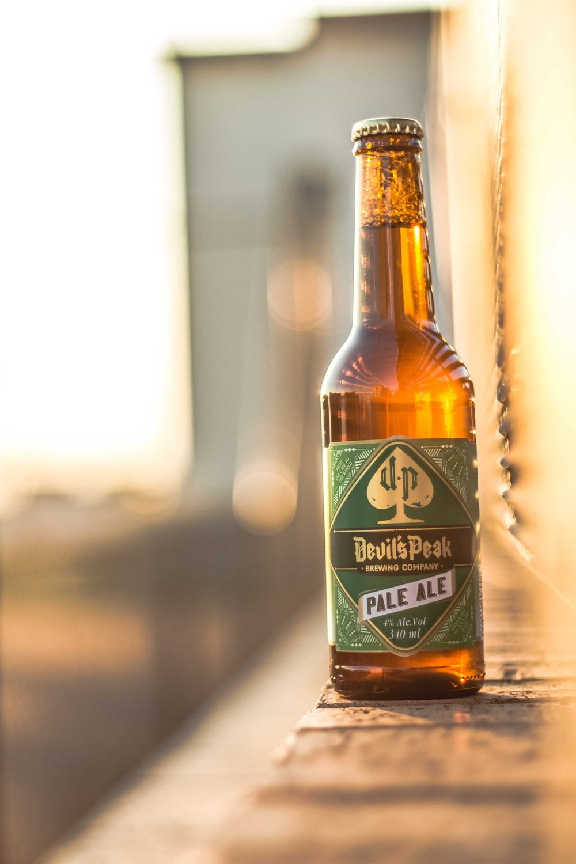 Devil's Peak Pale Ale bottle