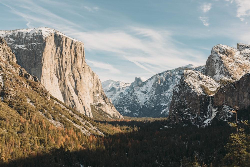 El Capitan, Yosemite at daytime