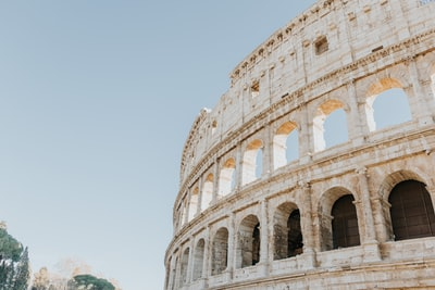 the colosseum rome italy during daytime italy teams background