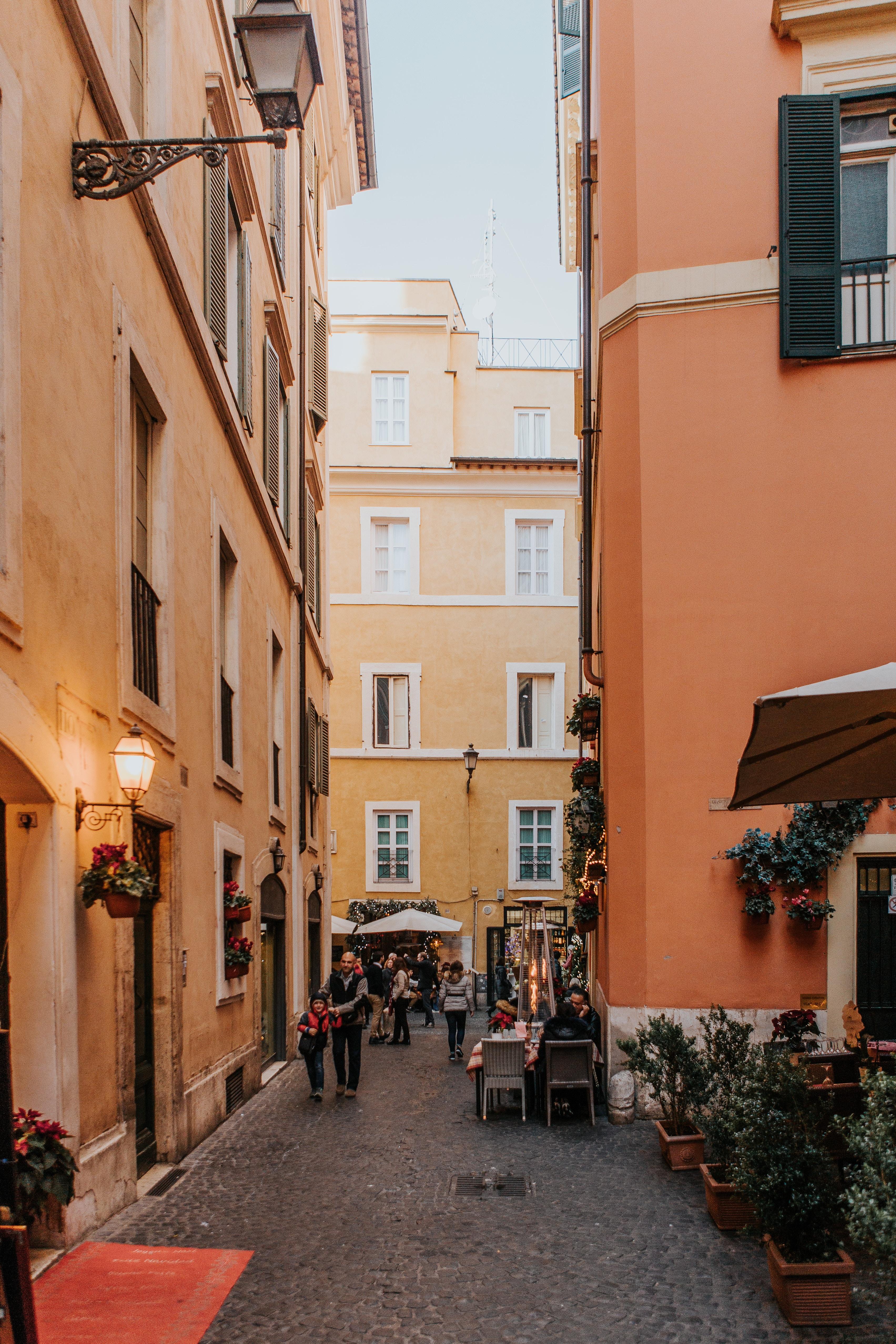 city street during daytime