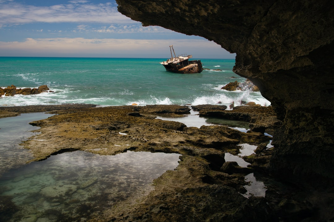 shipwreck off Arniston coast