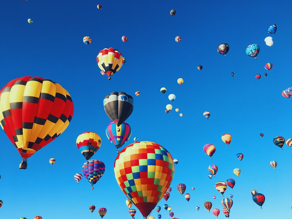 hot air balloon pfestival
