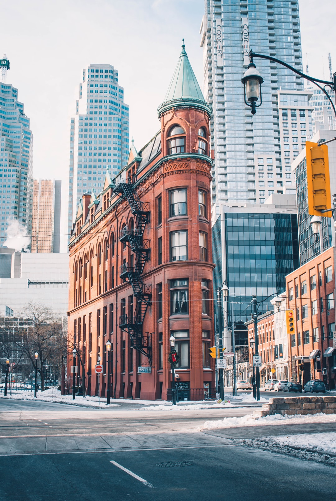 Historical Landmark in Toronto, the Flatiron building stands and is seen by many each day. This weekend, I found my way into the Greater Toronto Area to capture this photo.