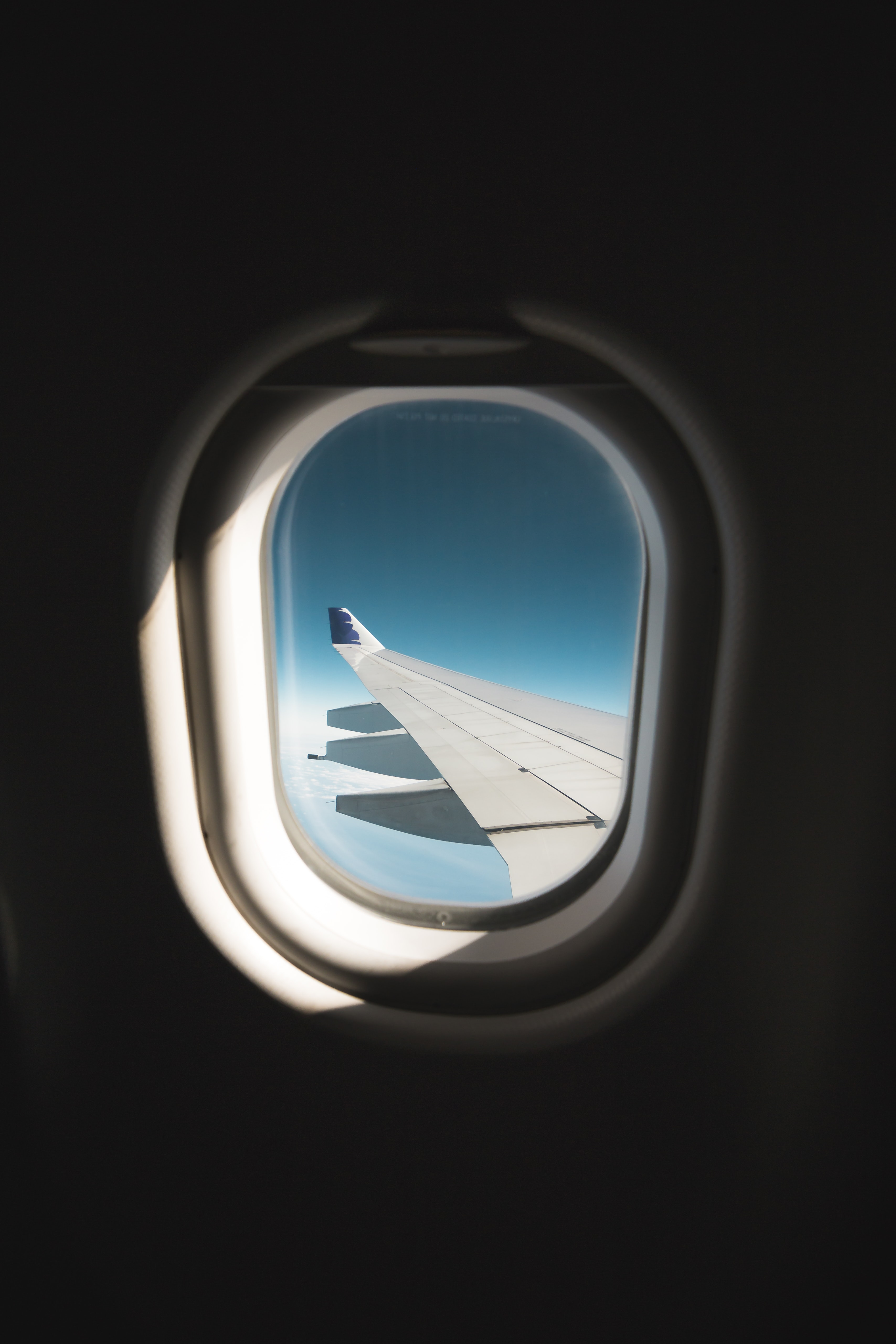 shallow focus of plane