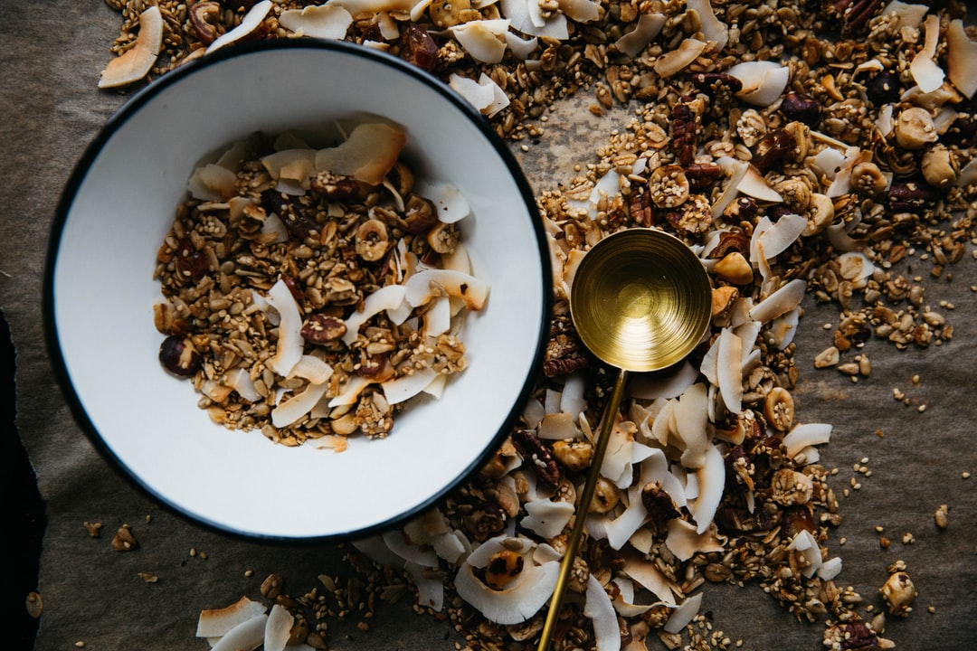 Granola by the spoonful