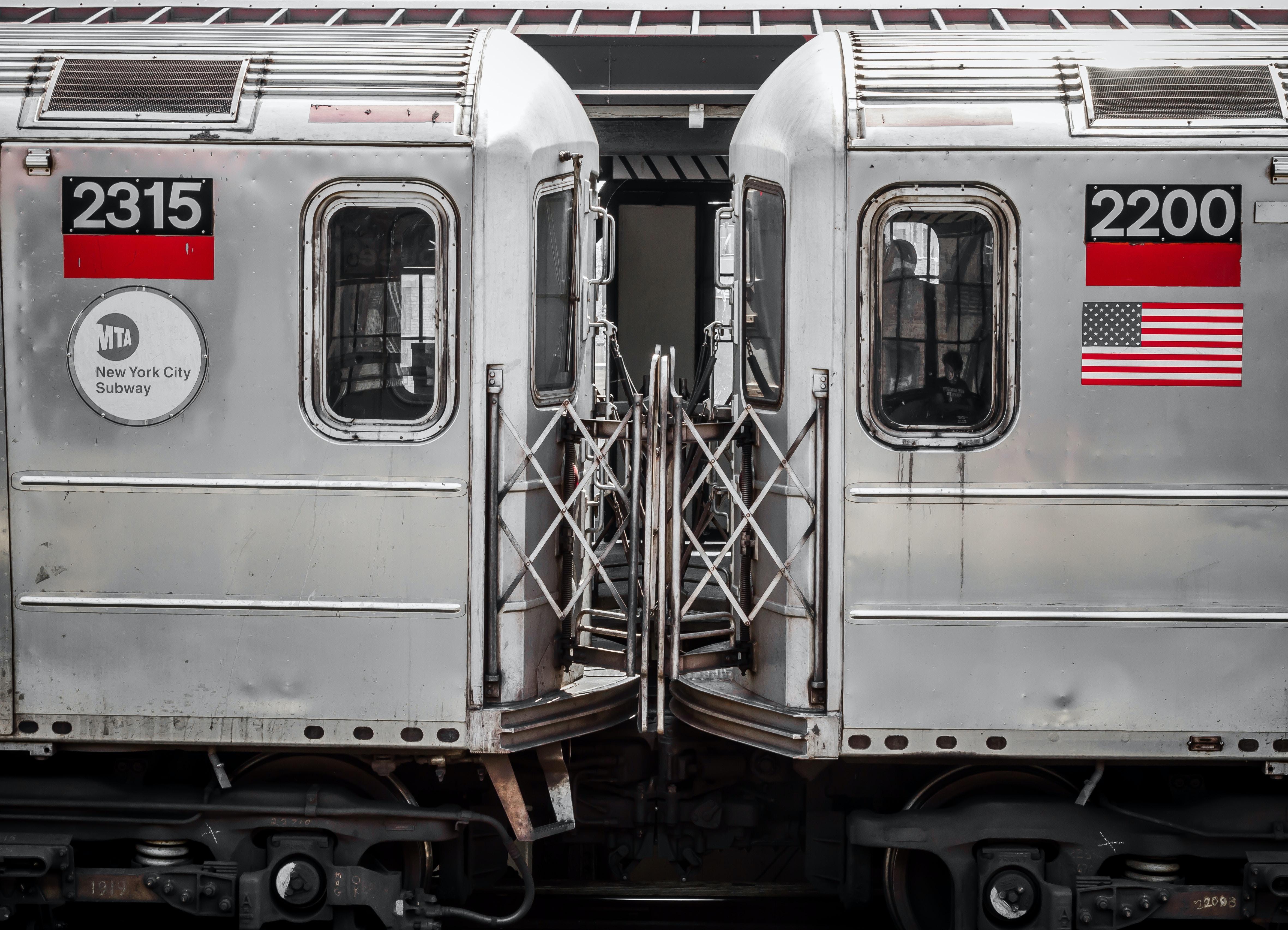 gray transportation train