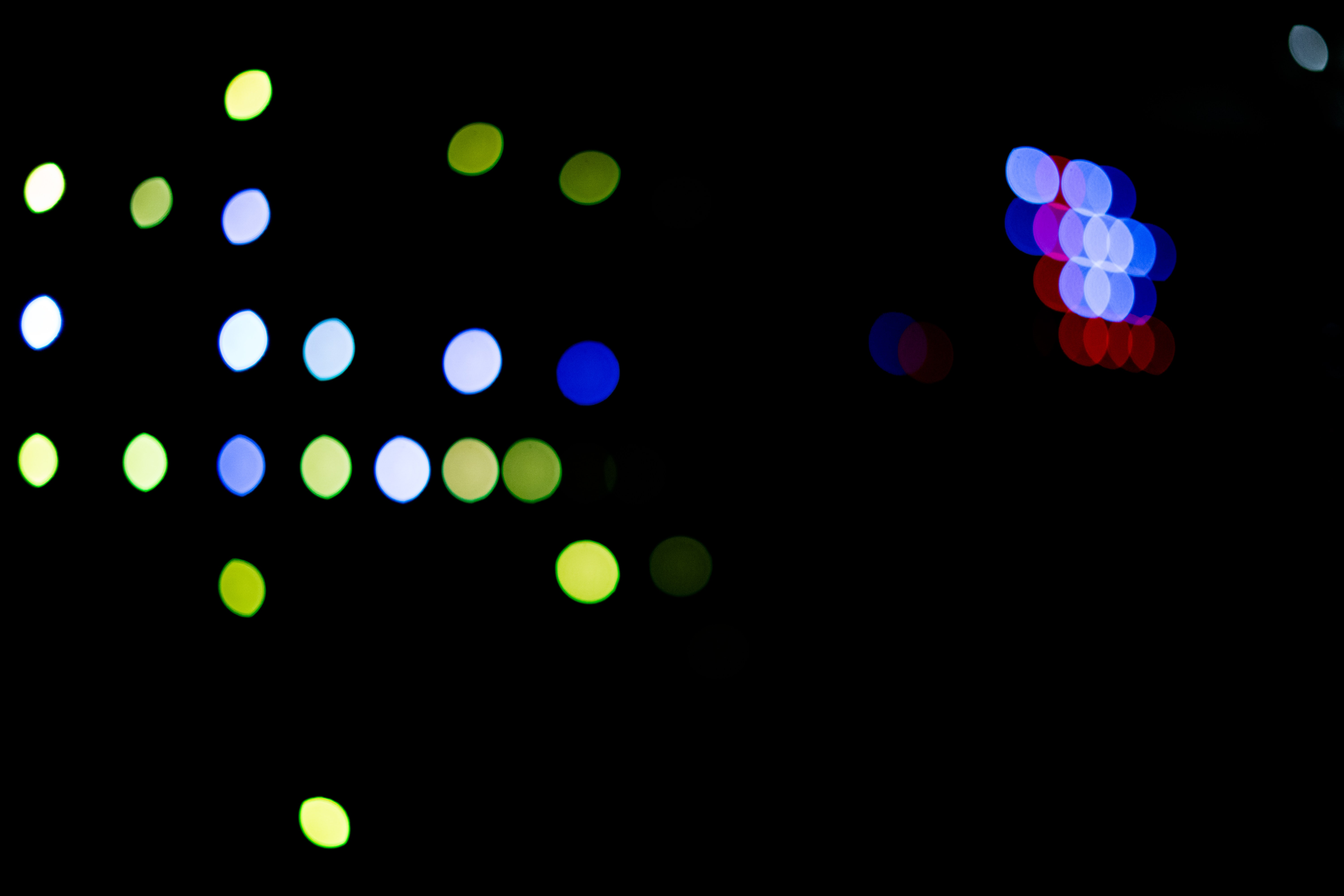 bokeh photography of assorted lights