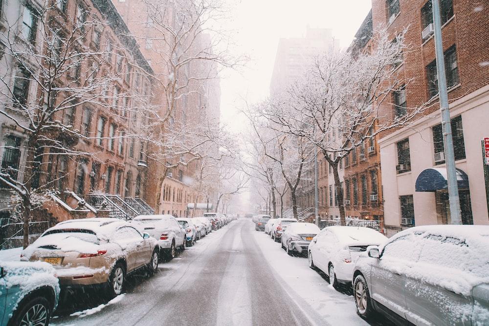 Winter New York Wallpaper