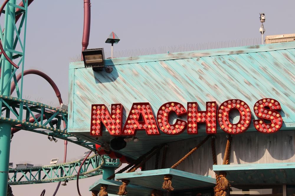 red Nachos store signage