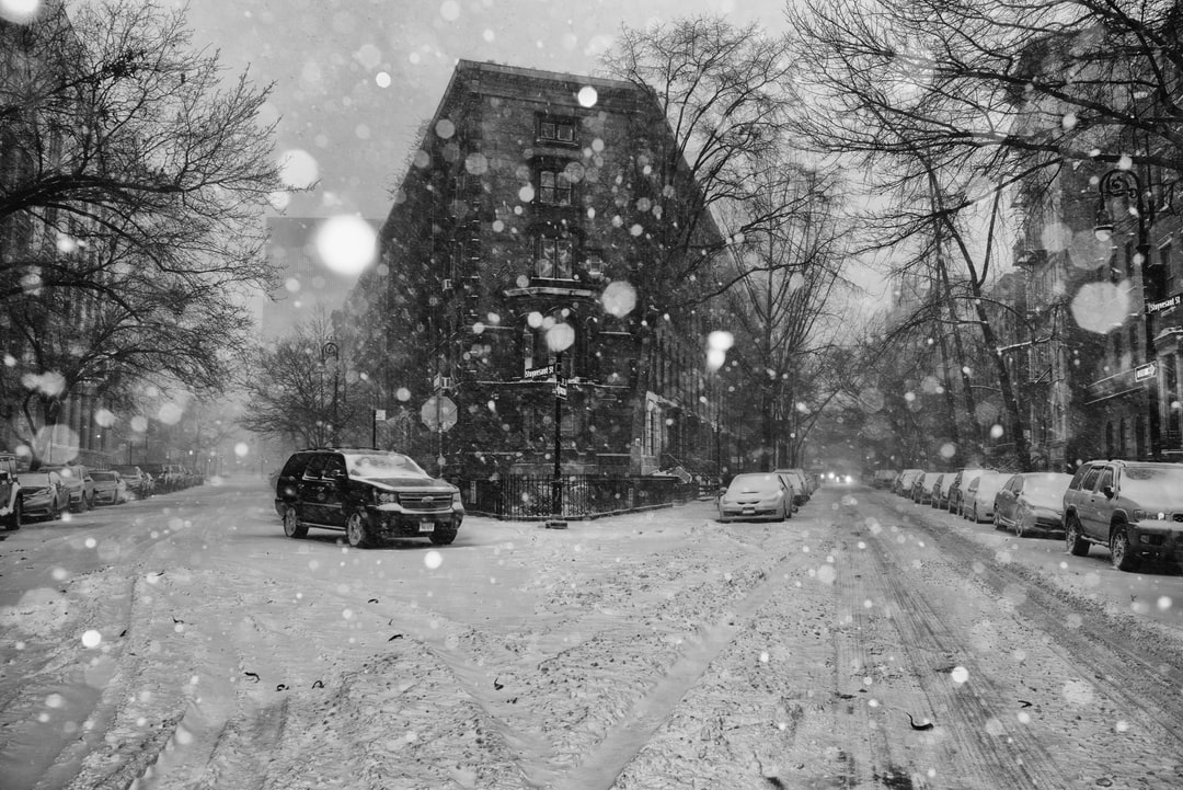 East Village - NYC during Bomb Cyclone, Snow Storm