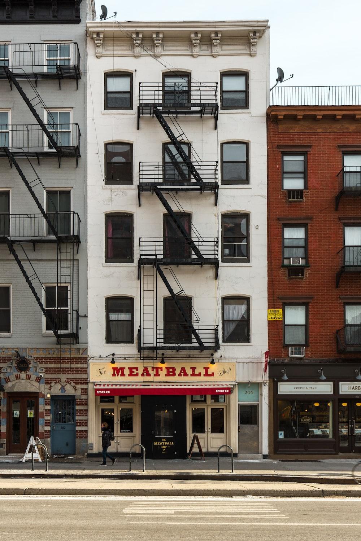 Meatball store facade