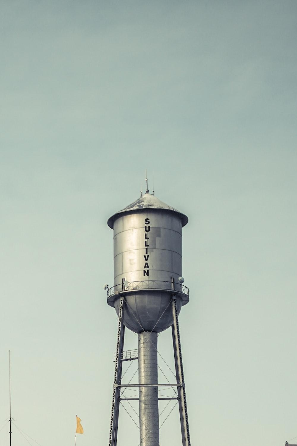 gray Sullivan water tank