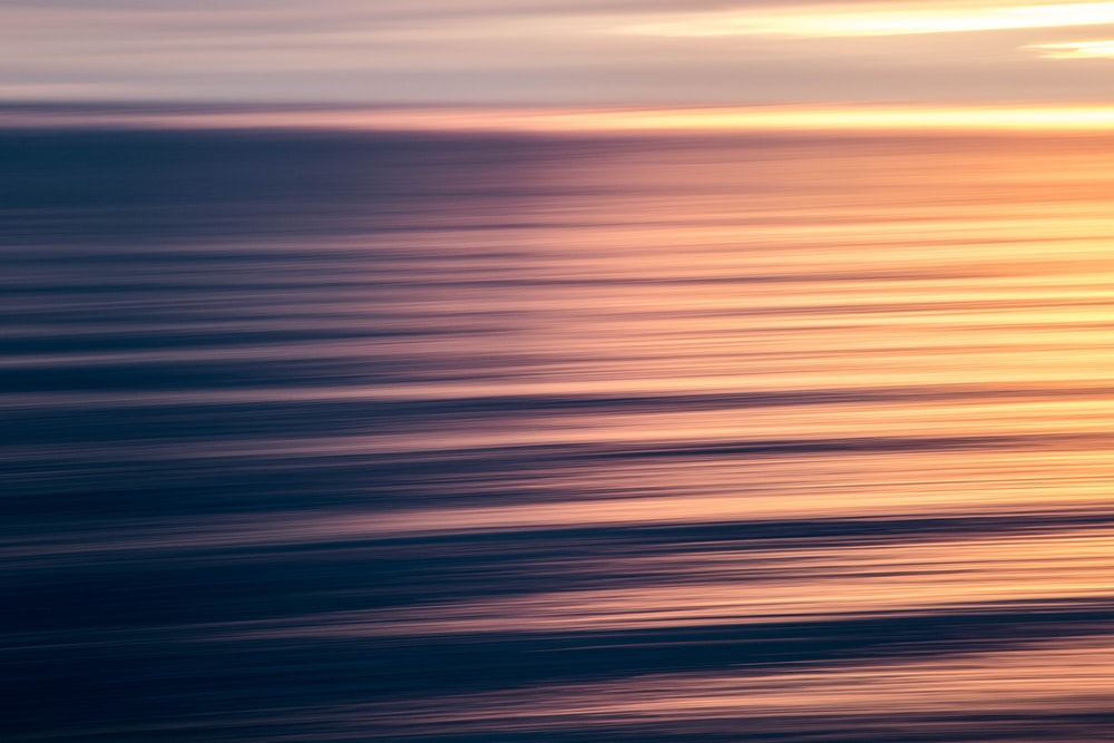 seascape photography of waves