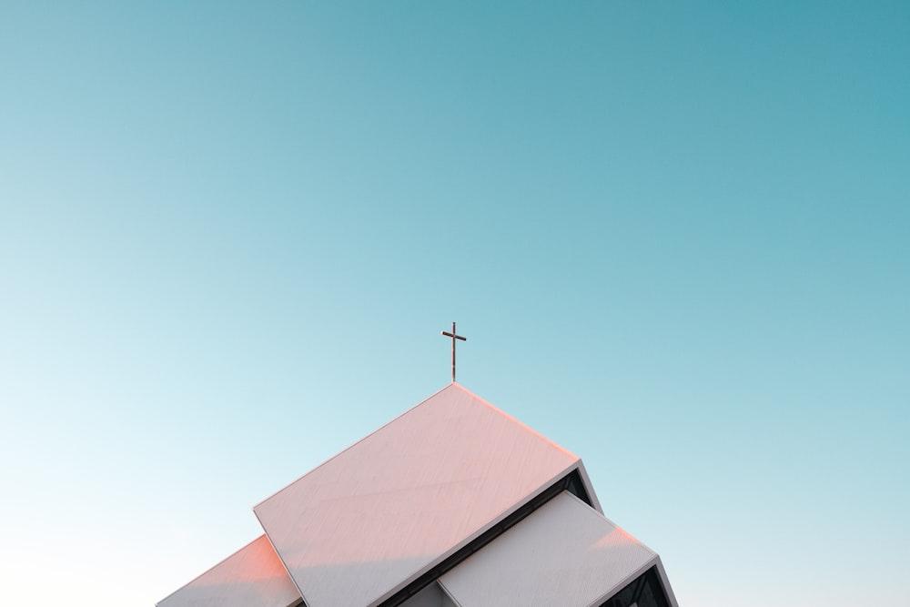 photo of brown church