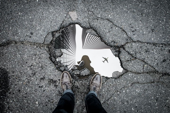 Life is Like A Pothole in The Road