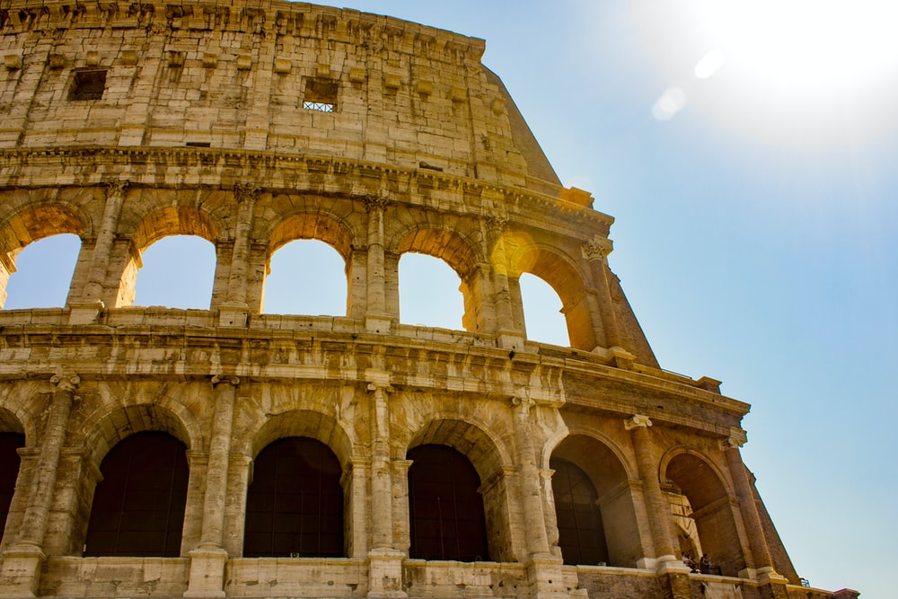 photography of The Colosseum,Rome
